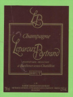 ETIQUETTE DE CHAMPAGNE - Champagner