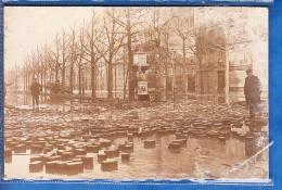 CARTE PHOTO PARIS INONDATION A CONFIRMER - Alluvioni Del 1910