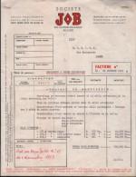 TABACS- SOCIETE JOB-ALGER-1959 - Documents