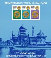 Brunei Hb 2 Con Charnela - Brunei (1984-...)