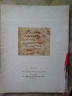 LIBRO Dos Documentos Notariales Del Siglo XV Testimonio De Los Primeros Ensayos Del Tejido De Seda En Barcelona. Navidad - Cultura