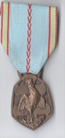 MEDAILLE GUERRE 1939-1945 REPUBLIQUE FRANCAISE - Graveur G SIMON - France
