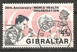 Gibraltar 1968 - Michel 216 Gest. - Gibraltar
