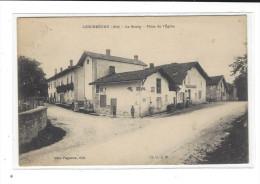 LESCHEROUX ( Ain ), Le Bourg, Place De L'Eglise , éd. Mme Pagneux - Otros Municipios