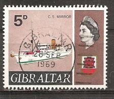 Gibraltar 1969 - Michel 224 Gest. - Gibraltar