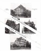 Photographien / Ansichten , 1913 , Toggenburg , Wattwil , Lichtensteig , Prospekt , Architektur , Fotos !!! - SG St. Gallen