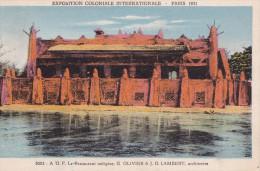 LE RESTAURANT INDIGENE EXPO. COLONIALE INTERNATIONALE PARIS 1931(DIL102) - Expositions