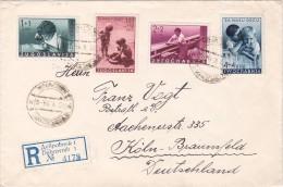 DUBROVNIK 1939 REGIDTERED COVER SEND TO GERMANY. - 1931-1941 Kingdom Of Yugoslavia