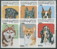Kambodscha 1998 Hunderassen 1814/19 Postfrisch - Cambodia