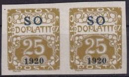 Eastern Silesia 1920 Sc J5 Mint Hinged - Unused Stamps