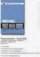 Motiv Katalog Flugzeuge Ganze Welt MlCHEL 2015 Neu 64€ Airplanes Topic Stamps Catalogue Of The World 978-3-95402-110-9 - Allemand
