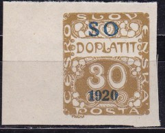 Eastern Silesia 1920 Sc J6 Mint Never Hinged - Nuovi