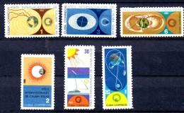 Z1068 - CUBA, Serie Nuova Sole Calmo N. 843/848  **  MNH - Nuovi