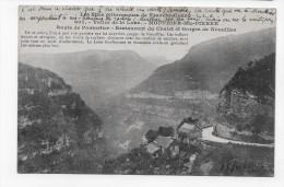 (RECTO / VERSO) MOUTHIER HAUTE PIERRE - N° 607 - VALLEE DE LA LOUE - RESTAURANT DU CHALET ET GORGES DE NOUAILLES -  CPA - France