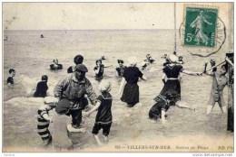 CPA, Calvados, Villers-sur-Mer, Scène De Plage - Villers Sur Mer