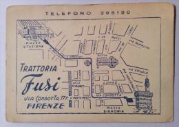 TRATTORIA FUSI VIA CONDOTTA FIRENZE NV FG - Firenze