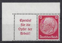 Germany 1934 Hindenburg (**) Mi. W 61 - Se-Tenant
