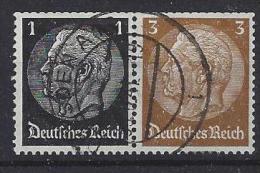 Germany 1940  Hindenburg (o) Mi. W 95 - Zusammendrucke