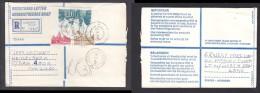 South Africa:  1988, Registered Letter : Franked  91c,  AUSTERVILLE  > HEIDELBERG TVL - South Africa (1961-...)