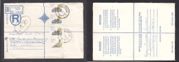 South Africa:  1988, Registered Letter : Franked  91c,  AUSTERVILLE  > East London - South Africa (1961-...)