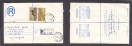 South Africa:  1976  Registered Letter : Franked 19c,  BETHULIE  > BLOEMFONTEIN - South Africa (1961-...)