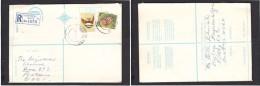 South Africa:  1978  Registered Letter : Franked 19c,BISHOPSGATE 4  > Pretoria - South Africa (1961-...)