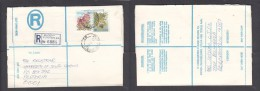 South Africa:  1978 Registered Letter : Franked 19 C, BLOEMFONTEIN 42, LABEL 74, > Pretoria - South Africa (1961-...)