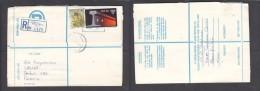 South Africa:  1978 Registered Letter : Franked 19 C, BLOEMFONTEIN 11, LABEL 92, > Pretoria - South Africa (1961-...)