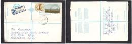 South Africa:  1977 Registered Letter : Franked 19 C, BLOEMFONTEIN NB 5, LABEL 79 > Pretoria - South Africa (1961-...)