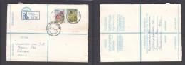 South Africa:  1978 Registered Letter : Franked 19 C, BLOEMFONTEIN 17 LABEL 92 > Pretoria - South Africa (1961-...)