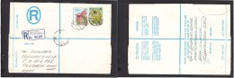 South Africa:  1978 Registered Letter : Franked 19 C, BLOEMFONTEIN 42 LABEL 24 > Pretoria - South Africa (1961-...)