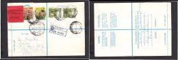 South Africa:  1978 Registered Letter EXPRESS : Franked 39c, BLOEMFONTEIN 42  LABEL 24 > PRETORIA, - South Africa (1961-...)