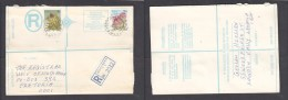 South Africa:  1978 Registered Letter : Franked  19c, BOOYSENS JOHANNESBURG, Label 7 - South Africa (1961-...)