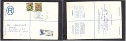 South Africa:  1977 Registered Letter : Franked  19c, BOKSBURG , Label 4- > Pretoria - South Africa (1961-...)