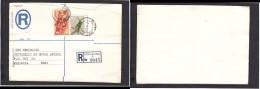 South Africa:  1977 Registered Letter : Franked  19c, BOKSBURG , Label 2- > Pretoria; Cover Front Only - South Africa (1961-...)