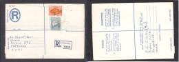 South Africa:  1977 Registered Letter : Franked  19c, BOKSBURG , Label- > Pretoria; - South Africa (1961-...)