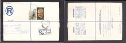 South Africa:  1977 Registered Letter : Franked  19c, BOKSBURG , Label 2 - > Pretoria; - South Africa (1961-...)
