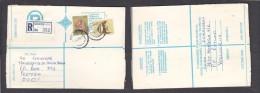 South Africa:  1978 Registered Letter : Franked  19c, BOKSBURG , Label 1 - > Pretoria; - South Africa (1961-...)