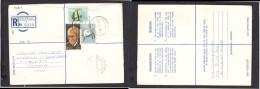South Africa:  1977 Registered Letter : Franked  19c, BOKSBURG NOORD , Label 1 - > Pretoria; - South Africa (1961-...)