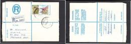 South Africa:  1978 Registered Letter : Franked  19c, BOKSBURG , Label  - > Pretoria; - South Africa (1961-...)