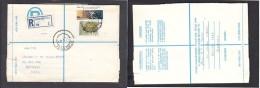 South Africa:  1977 Registered Letter, Franked  19c, BOKSBURG , Label BOKSBURG 1 No 1 -> Pretoria - South Africa (1961-...)