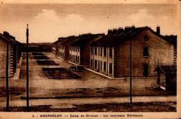 MOURMELON..CAMP DE DIVISION..LES NOUVEAUX BATIMENTS...CPA - Casernes