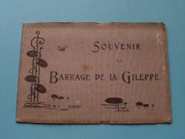 Souvenir Du BARRAGE De La GILEPPE ( In één Geheel Te Ontvouwen / Zie Foto´s ) ! - Estampes & Gravures
