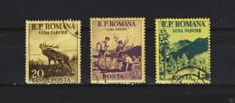 1954, - MOIS DE LA FORET,  MI No 1464/1466 Et Y&T No 1337/1339   Serie Complete - 1948-.... Repúblicas