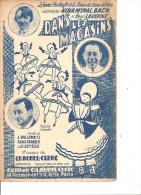 Dans Les Magasins. Bach & Myral & Laverne. - Partitions Musicales Anciennes