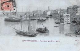 Civitavecchia - Panorama Parziale E Porto - N°1673 - Civitavecchia