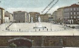CPA   ITALIE   Livorno Italie  Piazza Carlo Alberto - Livorno