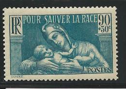 1939 - YVERT N° 419 ** SANS CHARNIERE - COTE = 4.5 EUR. - - France