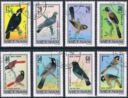 Vietnam - Oiseaux Chanteurs 84/91 Oblit. - Songbirds & Tree Dwellers