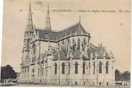 Cpa  CHATEAUROUX ABSIDE DE L EGLISE SAINT ANDRE - Chateauroux
